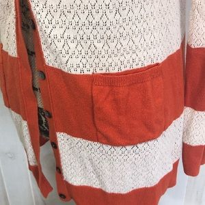 Anthropologie Sweaters - Yellow Bird Anthropologie  Rugby Cardigan- Medium